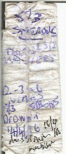Page 2 of original logbook