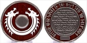 "Viking Dragon Shield - ""Sleipnir"""