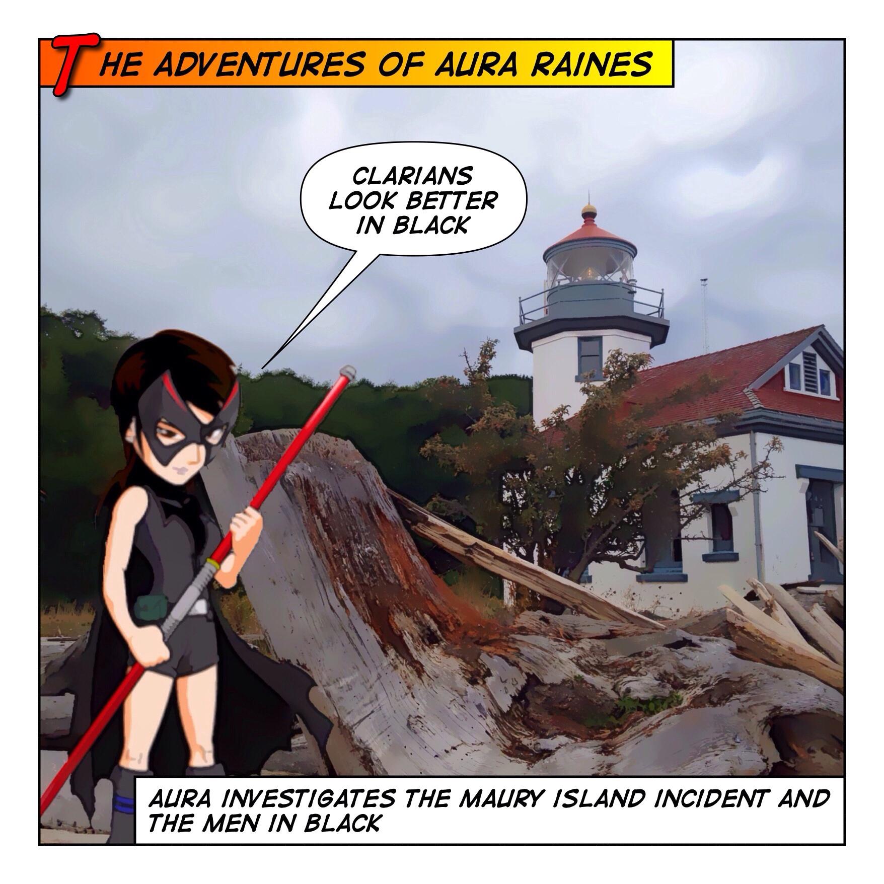 Aura Raines And the MIB