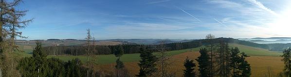 Severovýchodní panorama