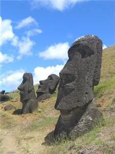 Easter Island Head Moai