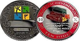 Nov64's 10 Hides Geo-Achievement Coin