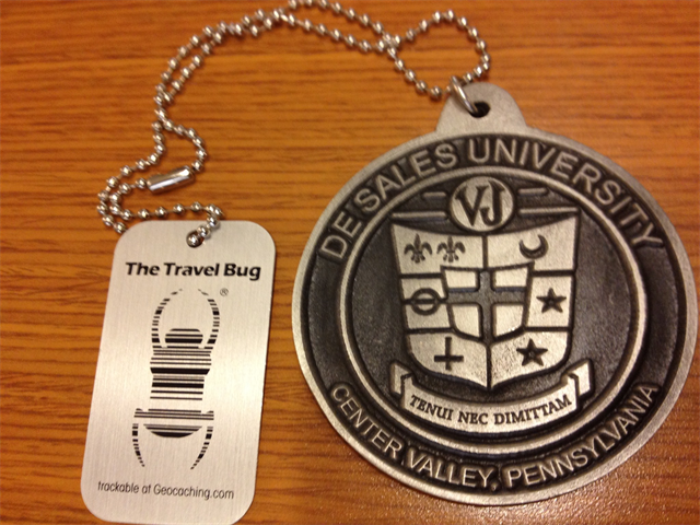 Track-A-Tag Geocaching Trackable Dog Tag.uk