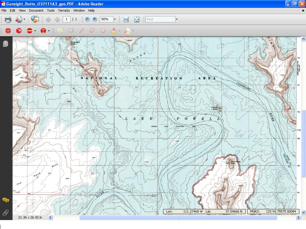 Navigation Charts for Lake Powell - GPS - Geocaching Forums