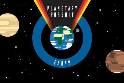 Planetary Pursuit: Earth