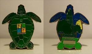 Loggerhead Turtle Geocoin