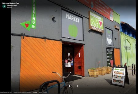 With Love Market-Exterior