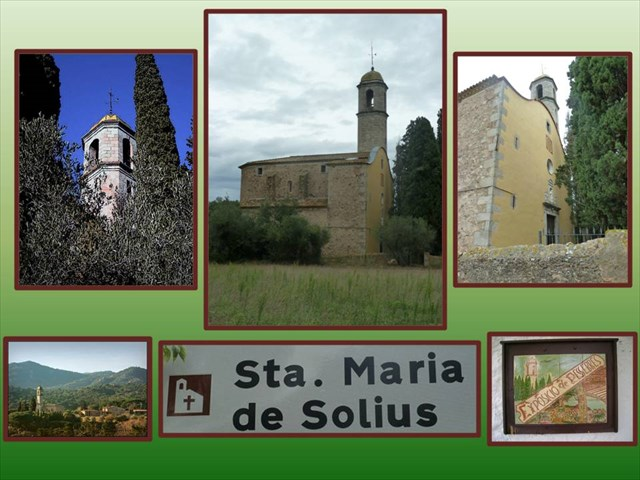 GC2FH34 MONESTIR DE SANTA MARIA DE SOLIUS (Traditional Cache) in Cataluña, Sp...