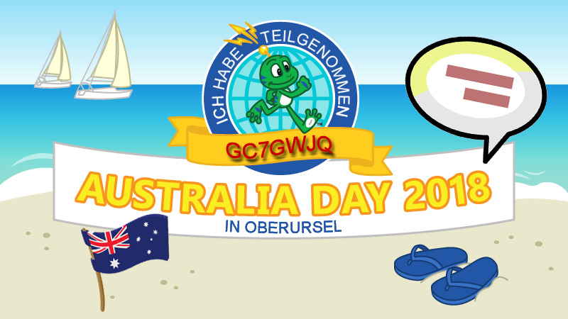 GC7GWJQ - Australia Day 2018 in Oberursel