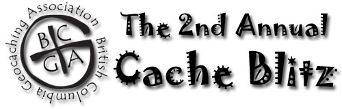 BCGA 2nd Annual Cache Blitz