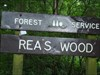Rea's Wood Took a picture at the sign by the entrance.