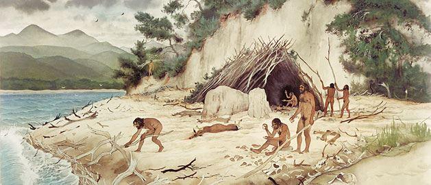 Plage de Terra Amata, il y a 400 000 ans