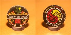 Year of the Dragon Geocoin 2012