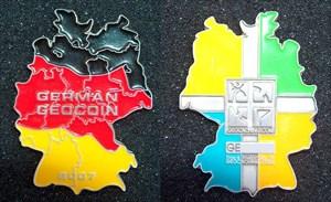 German Geocoin 2007.JPG