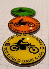 Look Twice Geocoin