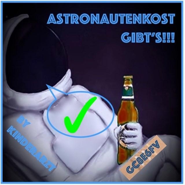 Astronautenkost gibt's!