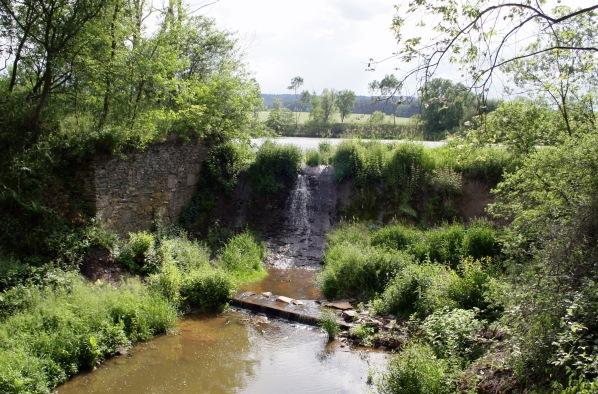 Přeliv Velkého Pardouskova rybníka
