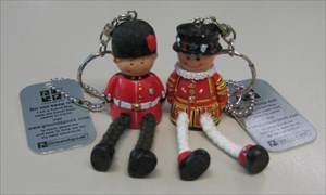 Bertie the Beefeater and Harry the Horseguard
