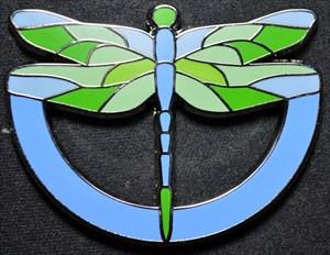 Dragonfly Pondhawk Geocoin