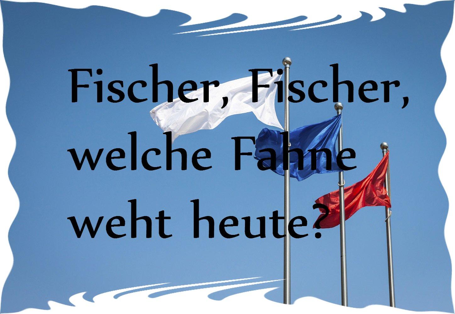 Fischer Fischer Welche Fahne Weht Heute