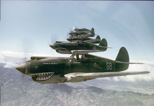 GC45G8J Military Aviation History - The Flying Tigers (Letterbox Hybrid) in Idaho, United States ...