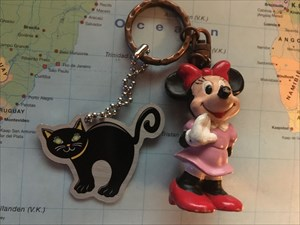 Catsidy The Black Cat & Minnie Mouse