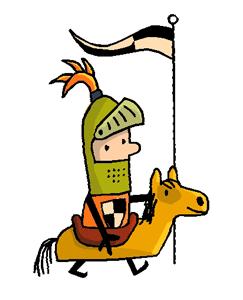 Ridder Hoen te paard