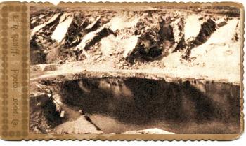 Zoborské jazierko okolo r. 1900