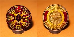 Compass Rose Geocoin 2010