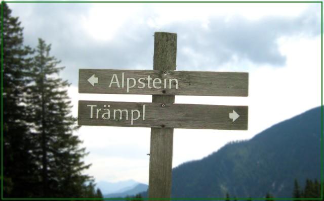 Trämpl - Alpstein