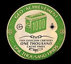 Geo-Achievement Finds 1000 Geocoin
