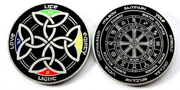 Tb3phnf Power Of The Celts Geocoin Der Kompass Der Kelten Aus