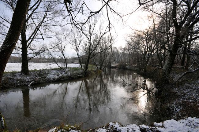 The river Pegnitz