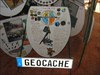 Geocache #3 seat log image