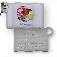Travel Flag Illinois