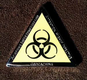 Haedel's Biohazard GeoCoin