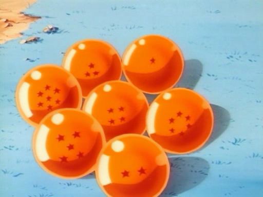 You are searching for the 7th Star Dragon Ball of Namek.