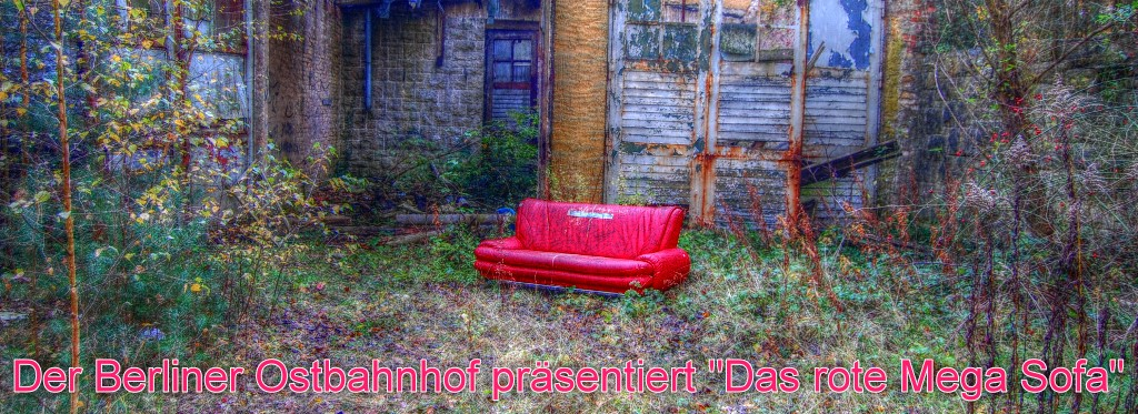 gc4ph5c ostbahnhof meets das rote mega sofa event cache. Black Bedroom Furniture Sets. Home Design Ideas