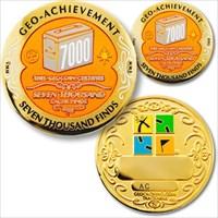 07000 Finds Geo-Achievement Geocoin