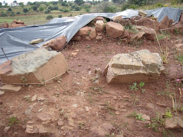 Túmulo Megalítico - tapado