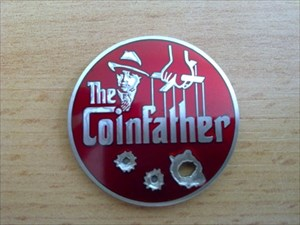 Fischis Coinfather Geocoin