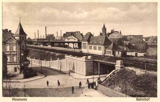 Bahnhof Nowawes 1929