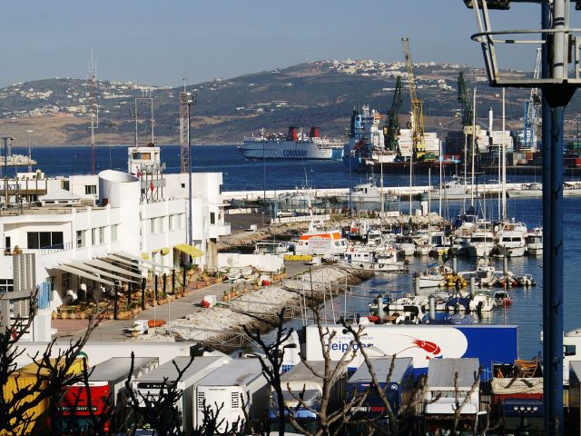 Harbour of Tanger