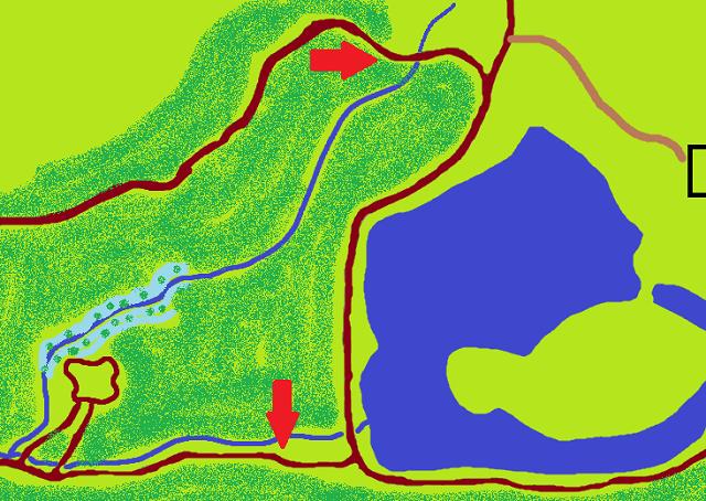 Monter Hunters Trail Head Map