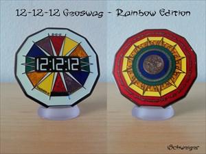 12-12-12 Geoswag - Rainbow Edition