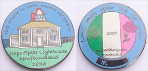 Newfoundland Geocoin - Black Nickel