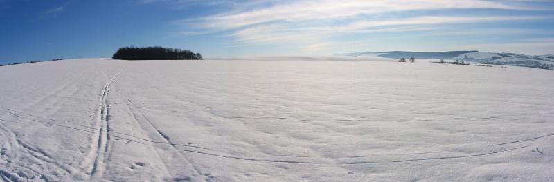 zima nad Maraticemi