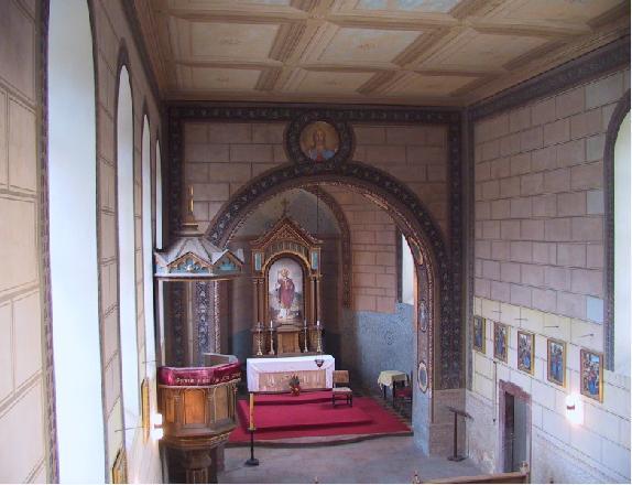 Karlicky kostel - interier
