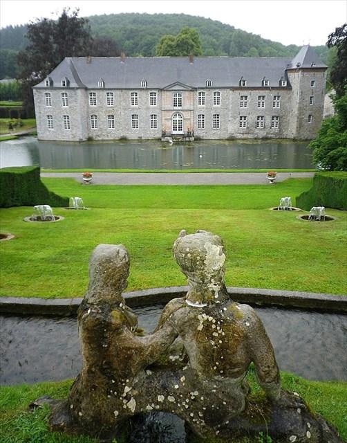 Gc52k3p jardins d 39 annevoie traditional cache in namur belgium created by emmach et sam5170 - Jardin suspendu brussels montpellier ...