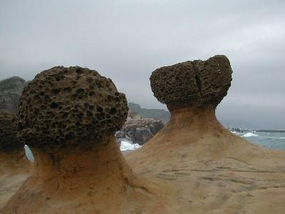 Muchroom rocks